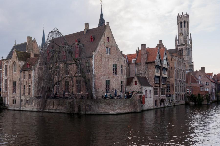 Rob Verhoek Fotografie, grachten in Brugge voor de handel