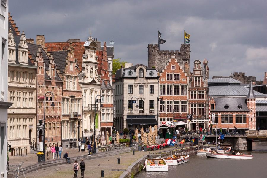 Rob Verhoek Fotografie, het oude centrum van Gent