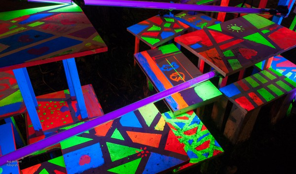 Rob Verhoek Fotografie, kleurrijke schildering, Amsterdam Light Festival 2015
