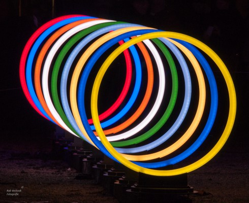 Rob Verhoek Fotografie, ringen Amsterdam Lightfestival 2015
