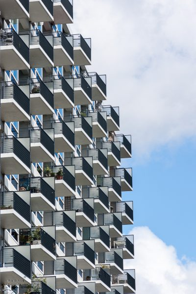 Rob Verhoek Fotografie, ritmische architectuur Rotterdam