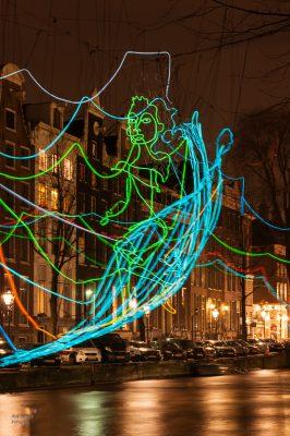 Rob Verhoek Fotografie, tekenen met licht